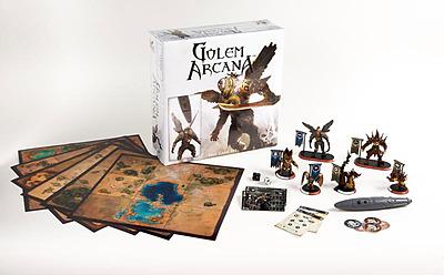 Einfach und sicher online bestellen: Golem Arcana Base Game in Österreich kaufen.