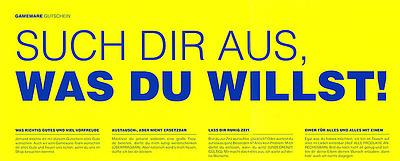Einfach und sicher online bestellen: Gameware Geschenkgutschein im Wert von EUR 30,- in Österreich kaufen.