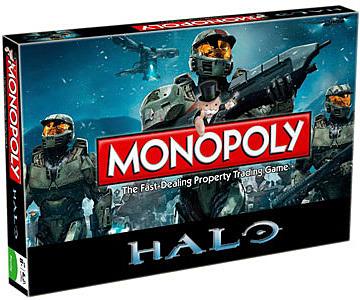 Einfach und sicher online bestellen: Halo Brettspiel Monopoly (Englisch) in Österreich kaufen.