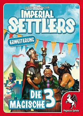 Einfach und sicher online bestellen: Imperial Settlers: Die magische 3 in Österreich kaufen.
