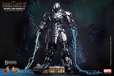 Einfach und sicher online bestellen: Iron Man 2 MMS Diecast Actionfigur 1/6 Whiplash in Österreich kaufen.