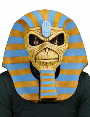 Einfach und sicher online bestellen: Iron Maiden Latexmaske Powerslave in Österreich kaufen.
