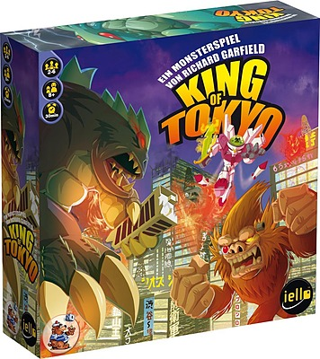Einfach und sicher online bestellen: King of Tokyo 2. Edition in Österreich kaufen.