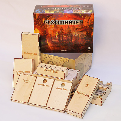 Einfach und sicher online bestellen: Gloomhaven Insert in Österreich kaufen.
