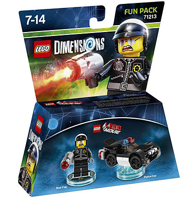 Einfach und sicher online bestellen: LEGO Dimensions Fun Pack Bad Cop in Österreich kaufen.