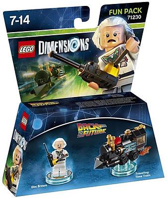 Einfach und sicher online bestellen: LEGO Dimensions Fun Pack Doc Brown in Österreich kaufen.