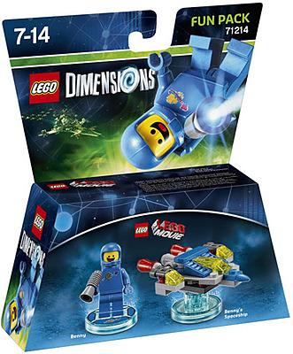 Einfach und sicher online bestellen: LEGO Dimensions Fun Pack Benny in Österreich kaufen.