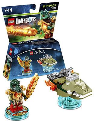 Einfach und sicher online bestellen: LEGO Dimensions Fun Pack Chima Cragger in Österreich kaufen.
