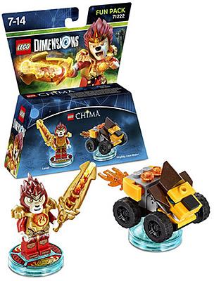 Einfach und sicher online bestellen: LEGO Dimensions Fun Pack Chima Laval in Österreich kaufen.