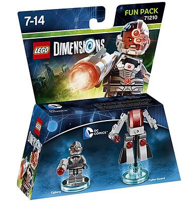 Einfach und sicher online bestellen: LEGO Dimensions Fun Pack Cyborg in Österreich kaufen.