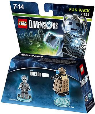Einfach und sicher online bestellen: LEGO Dimensions Fun Pack Doctor Who Cyberman in Österreich kaufen.