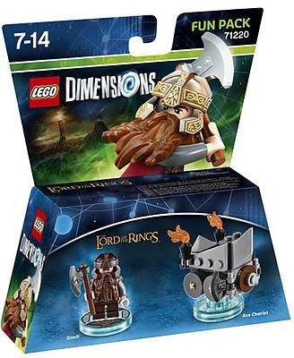 Einfach und sicher online bestellen: LEGO Dimensions Fun Pack Gimli in Österreich kaufen.
