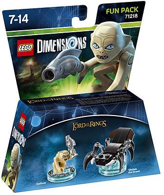 Einfach und sicher online bestellen: LEGO Dimensions Fun Pack Gollum in Österreich kaufen.