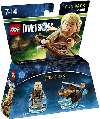 Einfach und sicher online bestellen: LEGO Dimensions Fun Pack Legolas in Österreich kaufen.