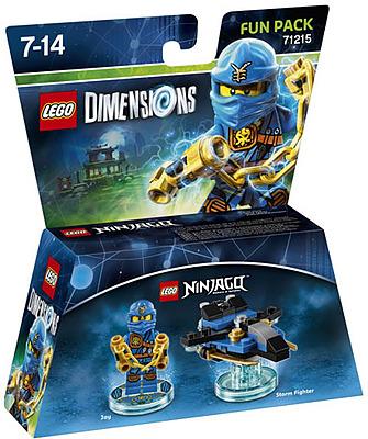 Einfach und sicher online bestellen: LEGO Dimensions Fun Pack Ninjago Jay in Österreich kaufen.
