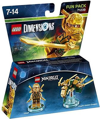 Einfach und sicher online bestellen: LEGO Dimensions Fun Pack Ninjago Lloyd in Österreich kaufen.