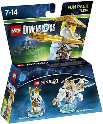 Einfach und sicher online bestellen: LEGO Dimensions Fun Pack Ninjago Sensei Wu in Österreich kaufen.