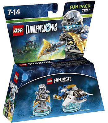 Einfach und sicher online bestellen: LEGO Dimensions Fun Pack Ninjago Zane in Österreich kaufen.
