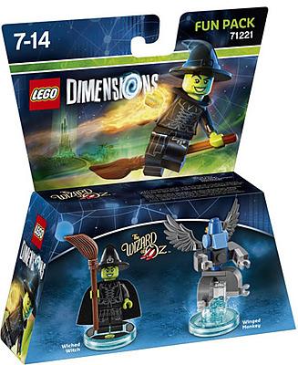 Einfach und sicher online bestellen: LEGO Dimensions Fun Pack Wicked Witch in Österreich kaufen.