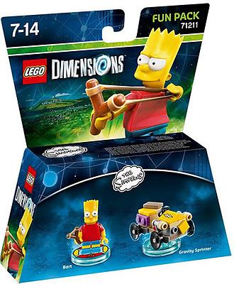 Einfach und sicher online bestellen: LEGO Dimensions Fun Pack Bart in Österreich kaufen.
