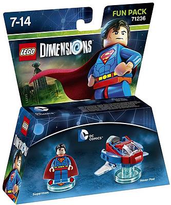 Einfach und sicher online bestellen: LEGO Dimensions Fun Pack Superman in Österreich kaufen.