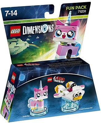 Einfach und sicher online bestellen: LEGO Dimensions Fun Pack Unikitty in Österreich kaufen.