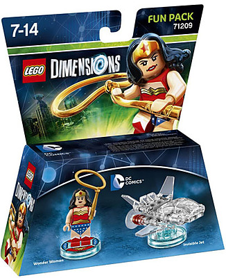 Einfach und sicher online bestellen: LEGO Dimensions Fun Pack Wonder Woman in Österreich kaufen.