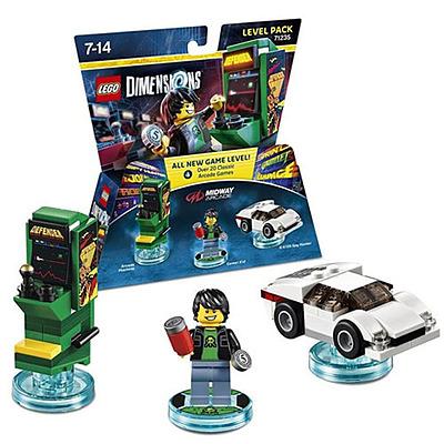Einfach und sicher online bestellen: LEGO Dimensions Level Pack Midway Arcade in Österreich kaufen.
