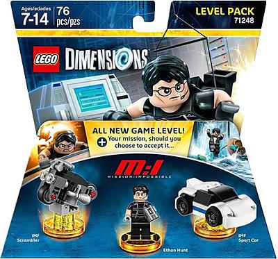 Einfach und sicher online bestellen: LEGO Dimensions Level Pack Mission Impossible in Österreich kaufen.