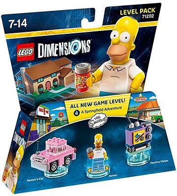 Einfach und sicher online bestellen: LEGO Dimensions Level Pack Simpsons in Österreich kaufen.