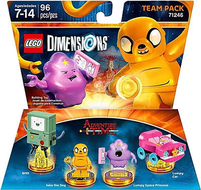 Einfach und sicher online bestellen: LEGO Dimensions Team Pack Adventure Time in Österreich kaufen.