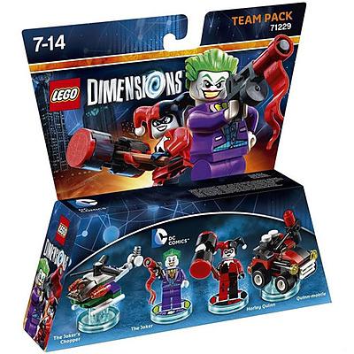 Einfach und sicher online bestellen: LEGO Dimensions Team Pack DC Joker & Harley Quinn in Österreich kaufen.
