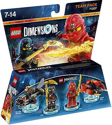 Einfach und sicher online bestellen: LEGO Dimensions Team Pack Ninjago in Österreich kaufen.
