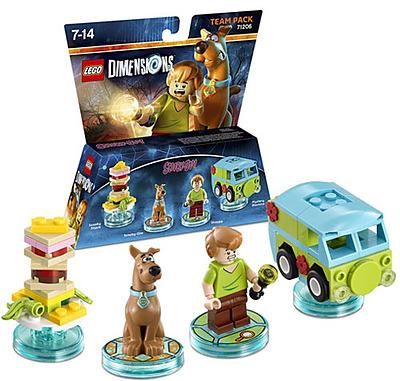 Einfach und sicher online bestellen: LEGO Dimensions Team Pack Scooby Doo in Österreich kaufen.