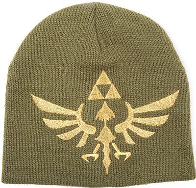 Einfach und sicher online bestellen: The Legend of Zelda Beanie Woven Golden Logo in Österreich kaufen.