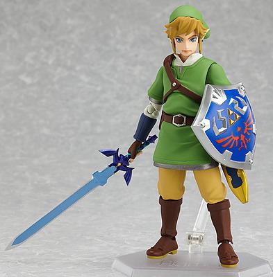 Einfach und sicher online bestellen: The Legend of Zelda Skyward Sword Actionfigur Link in Österreich kaufen.