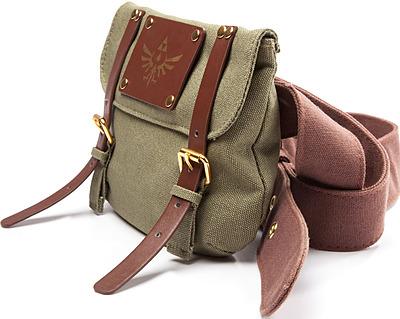 Einfach und sicher online bestellen: The Legend of Zelda Gürtel mit Tasche Logo in Österreich kaufen.