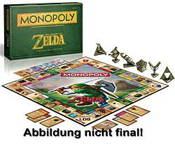 Einfach und sicher online bestellen: The Legend of Zelda Monopoly Collectors Edition in Österreich kaufen.