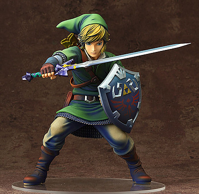 Einfach und sicher online bestellen: The Legend of Zelda Skyward Sword Statue Link 1/7 in Österreich kaufen.
