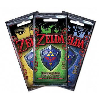 Einfach und sicher online bestellen: Legend of Zelda Trading Cards Booster (Englisch) in Österreich kaufen.