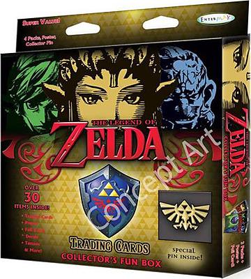 Einfach und sicher online bestellen: Legend of Zelda Trading Cards Collectors Box in Österreich kaufen.