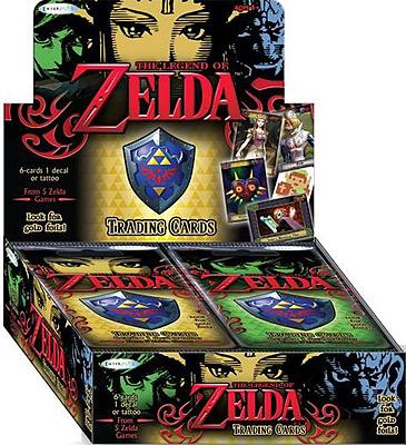 Einfach und sicher online bestellen: Legend of Zelda Trading Cards Display (Englisch) in Österreich kaufen.