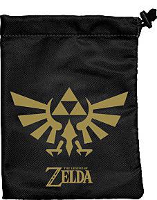 Einfach und sicher online bestellen: Legend of Zelda Dice Bag Black & Gold in Österreich kaufen.
