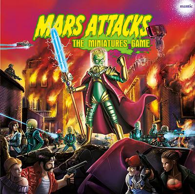 Einfach und sicher online bestellen: Mars Attacks Miniaturenbrettspiel Deluxe in Österreich kaufen.