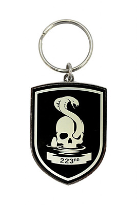 Einfach und sicher online bestellen: Mafia 3 Schlüsselanhänger 223rd Infantry in Österreich kaufen.