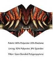 Einfach und sicher online bestellen: Wild Bangarang Face Mask Dragon Face in Österreich kaufen.