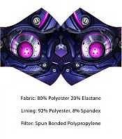 Einfach und sicher online bestellen: Wild Bangarang Face Mask Purple Mecha in Österreich kaufen.