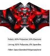 Einfach und sicher online bestellen: Wild Bangarang Face Mask Skull Reaver in Österreich kaufen.