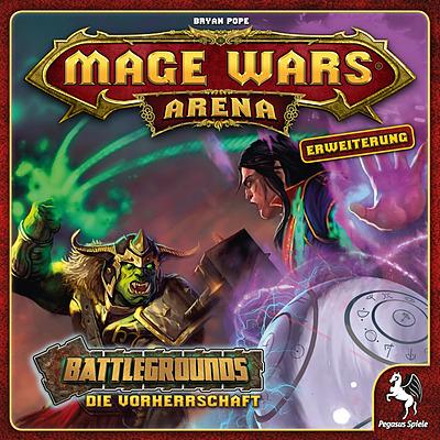 Einfach und sicher online bestellen: Mage Wars Arena - Battlegrounds: Die Vorherrschaft in Österreich kaufen.