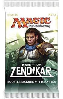 Einfach und sicher online bestellen: Magic the Gathering Kampf um Zendikar Booster in Österreich kaufen.